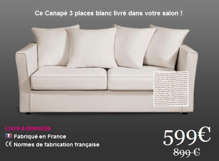 photos canap tissu pas cher. Black Bedroom Furniture Sets. Home Design Ideas