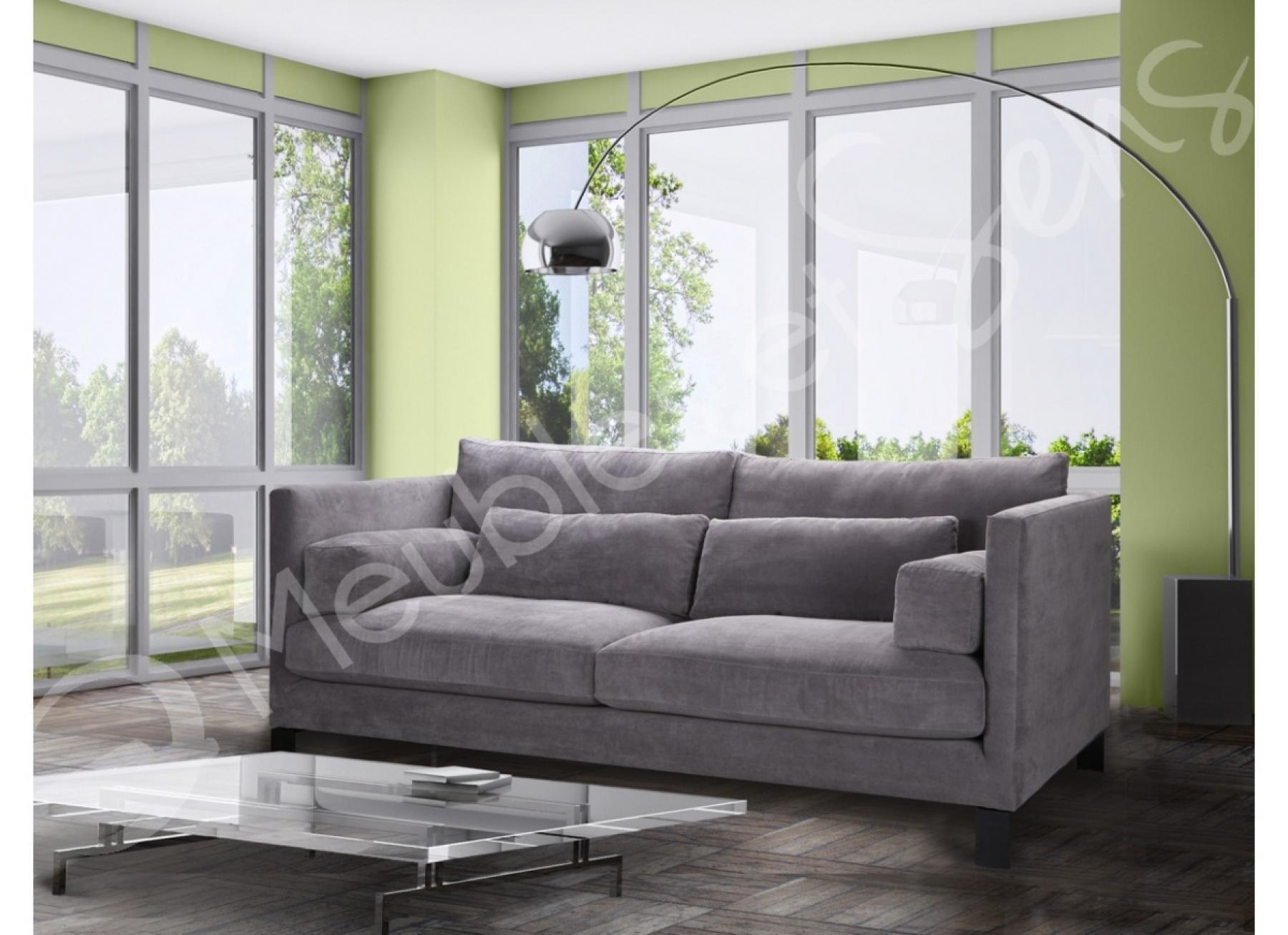 photos canap tissu confortable. Black Bedroom Furniture Sets. Home Design Ideas