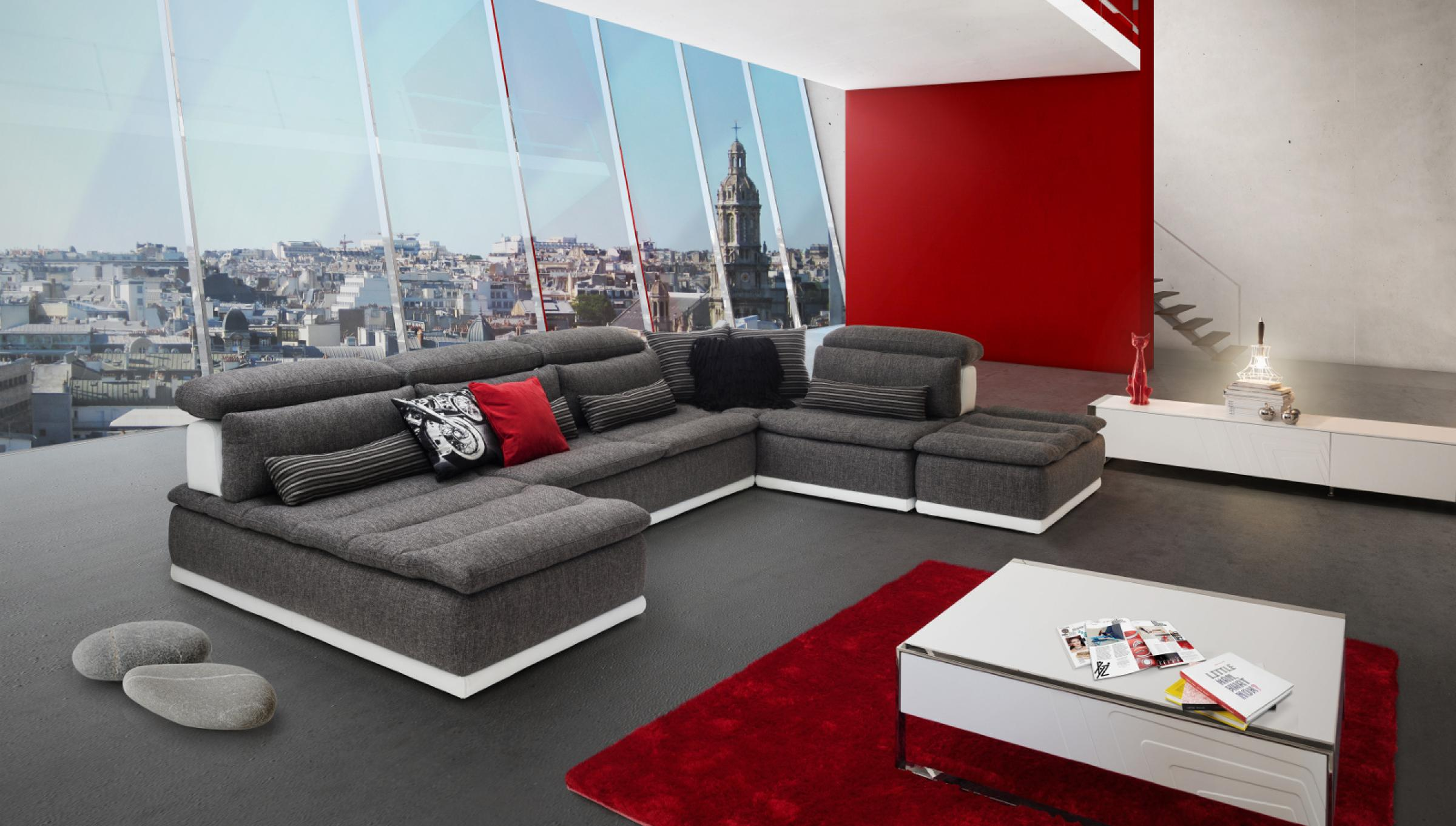 canap xxl panorama id es d 39 images la maison. Black Bedroom Furniture Sets. Home Design Ideas