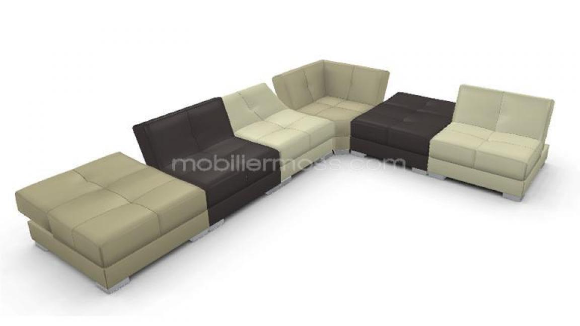 canape modulable cuir