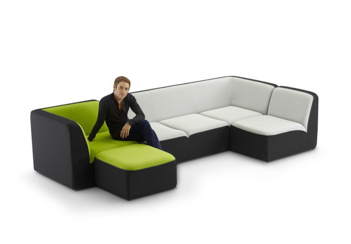 photos canap modulable design. Black Bedroom Furniture Sets. Home Design Ideas