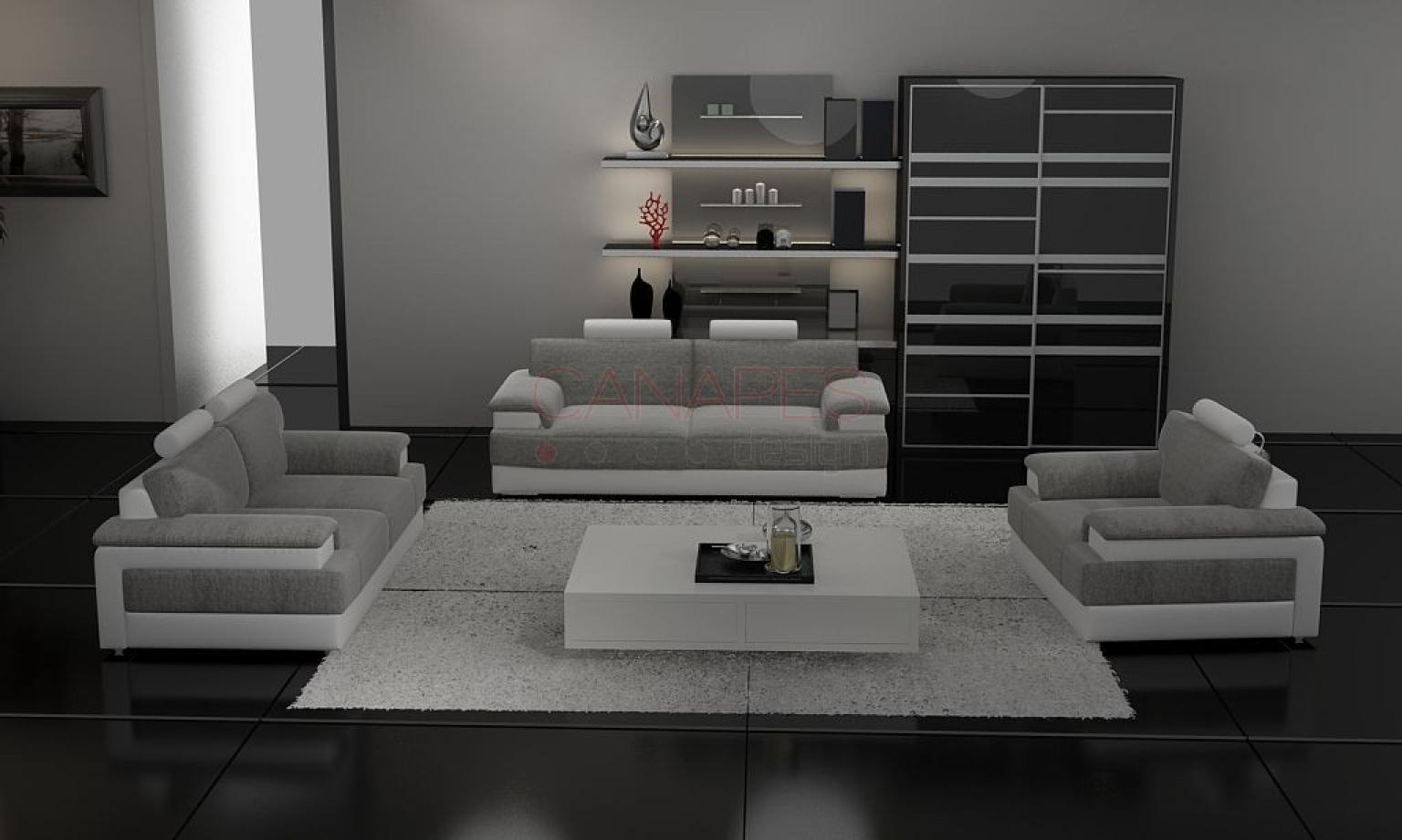 photos canap 3 2 1. Black Bedroom Furniture Sets. Home Design Ideas