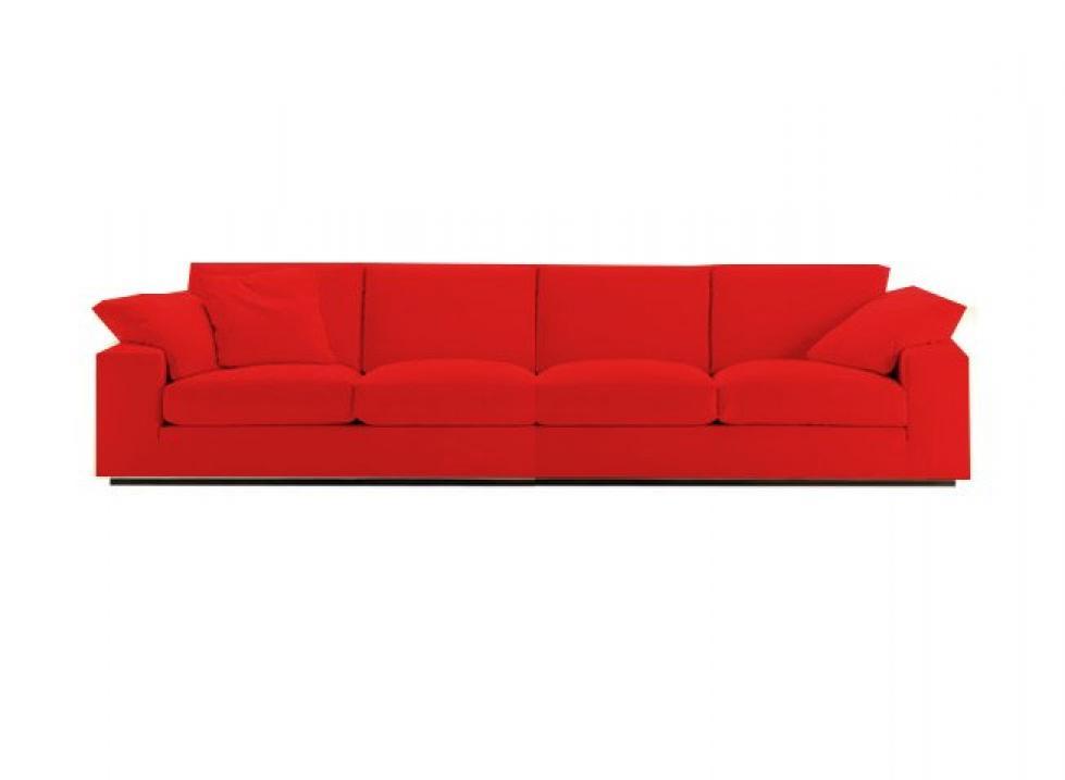 canape 4 places droit maison design. Black Bedroom Furniture Sets. Home Design Ideas