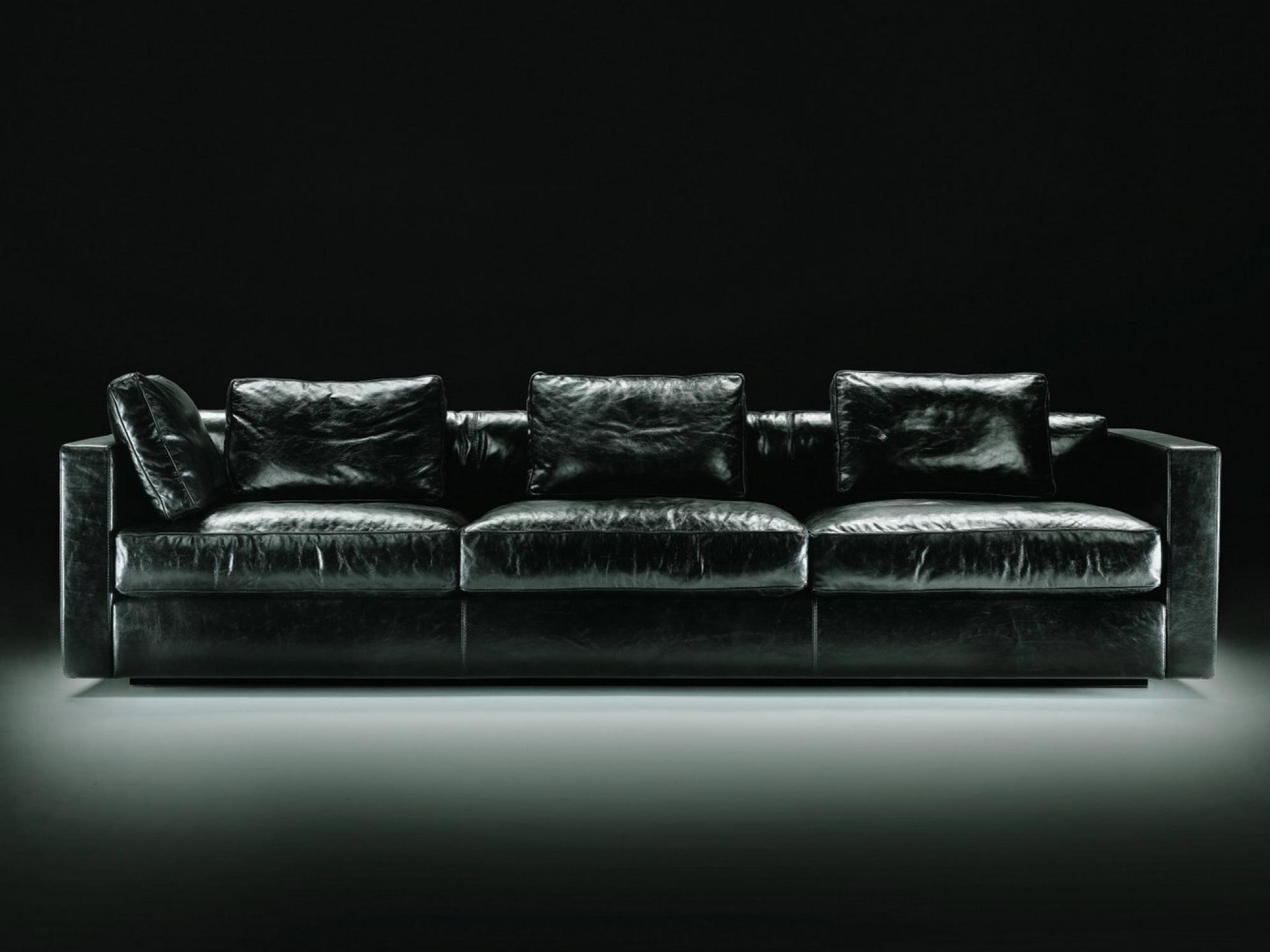 photos canap 4 places cuir. Black Bedroom Furniture Sets. Home Design Ideas