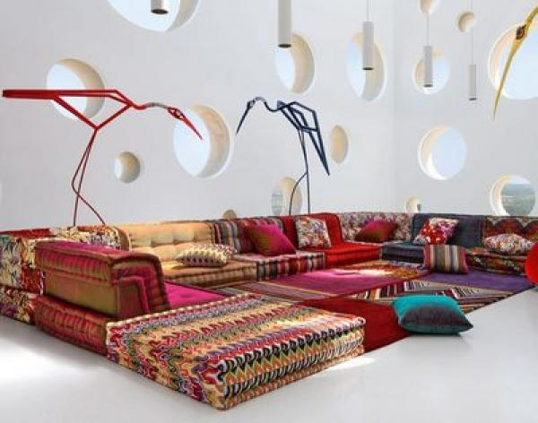 photos canap modulable roche bobois. Black Bedroom Furniture Sets. Home Design Ideas