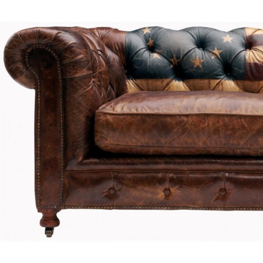 Canap anglais cuir finest canap cuir style anglais lovely - Salon anglais en tissu ...