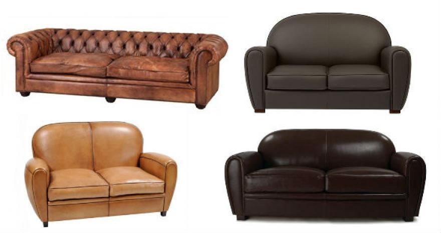 photos canap anglais cuir club. Black Bedroom Furniture Sets. Home Design Ideas