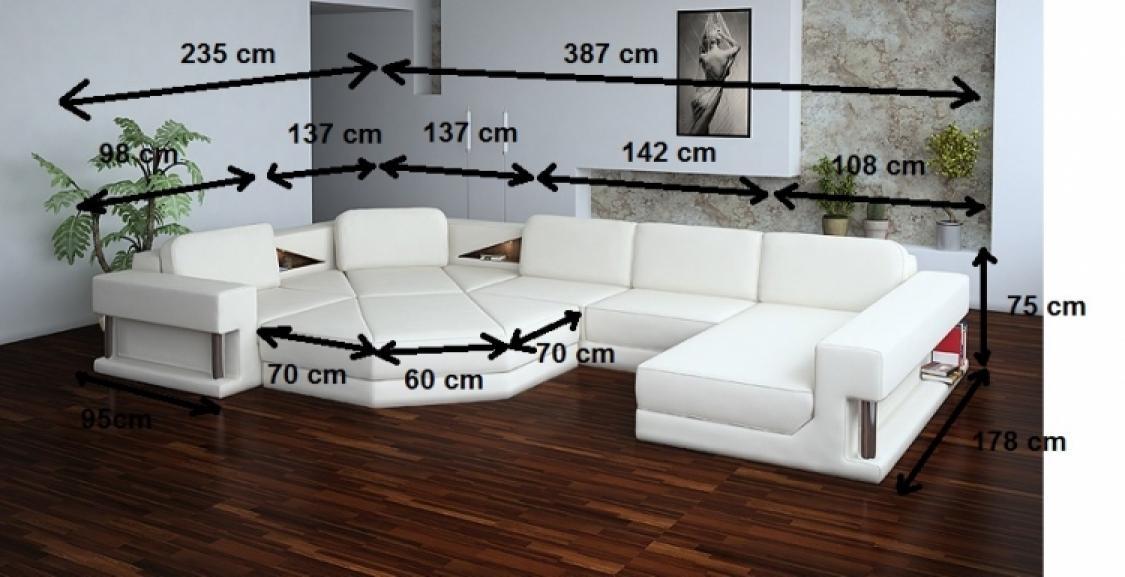 Photos Canapé Angle Design Cuir - Canape deux angle