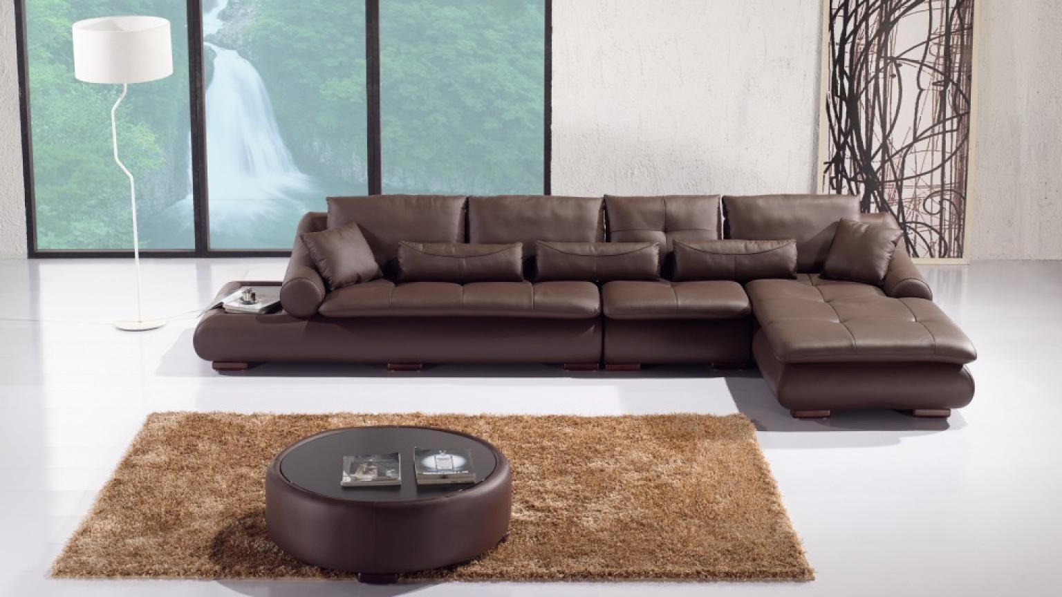 s canapé angle design cuir