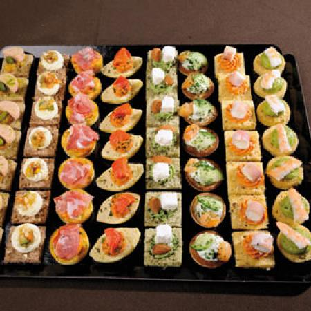 Photos canap ap ro froid for Canape aperitif