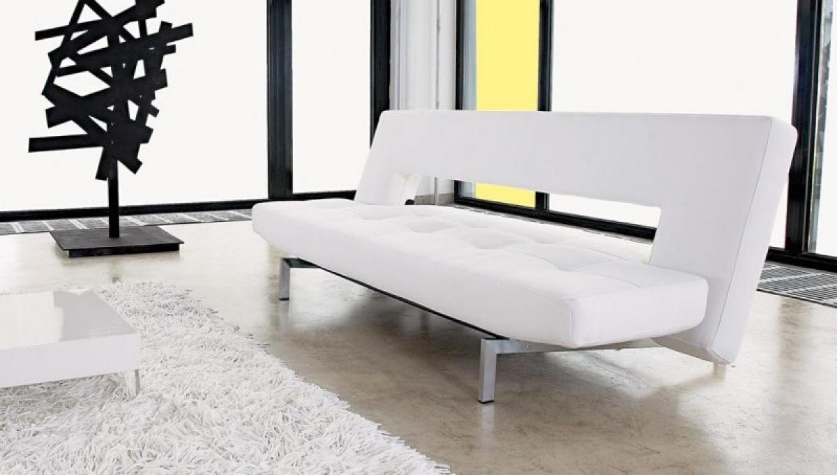 canap blanc design - Canape Blanc Design