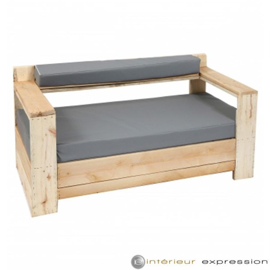 photos canap bois de palette. Black Bedroom Furniture Sets. Home Design Ideas