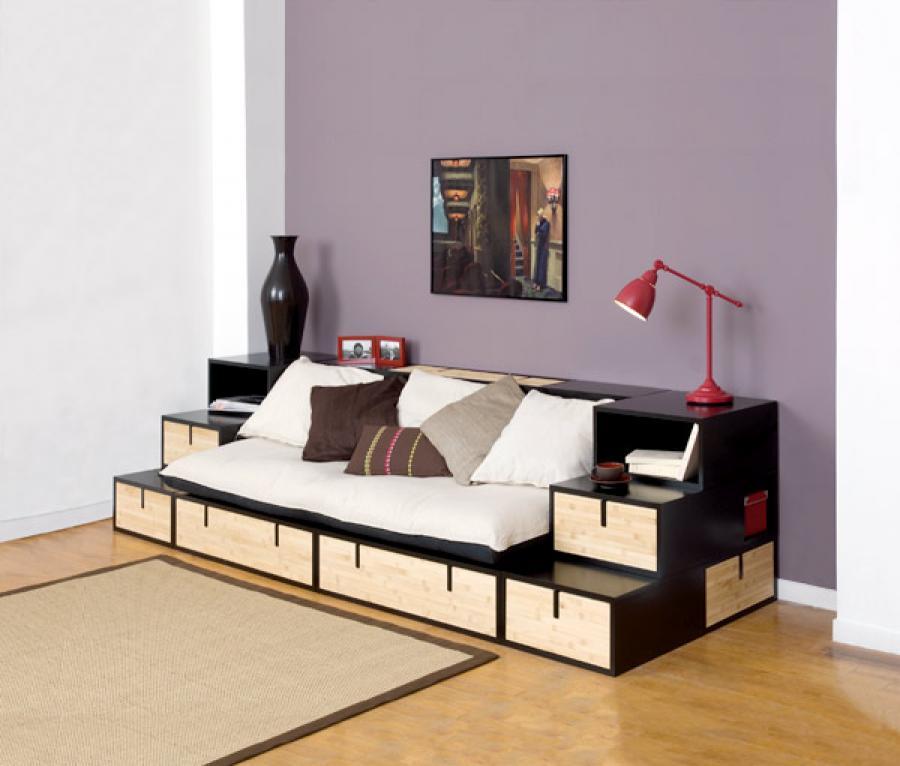 photos canap banquette design. Black Bedroom Furniture Sets. Home Design Ideas