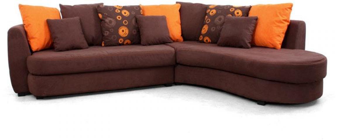 Photos Canape Conforama Orange Et Marron