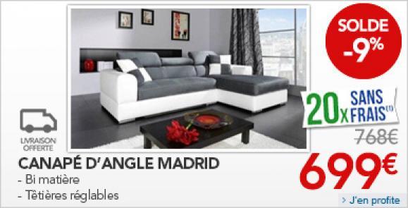 rue du commerce canape d angle zakelijksportnetwerkoost. Black Bedroom Furniture Sets. Home Design Ideas