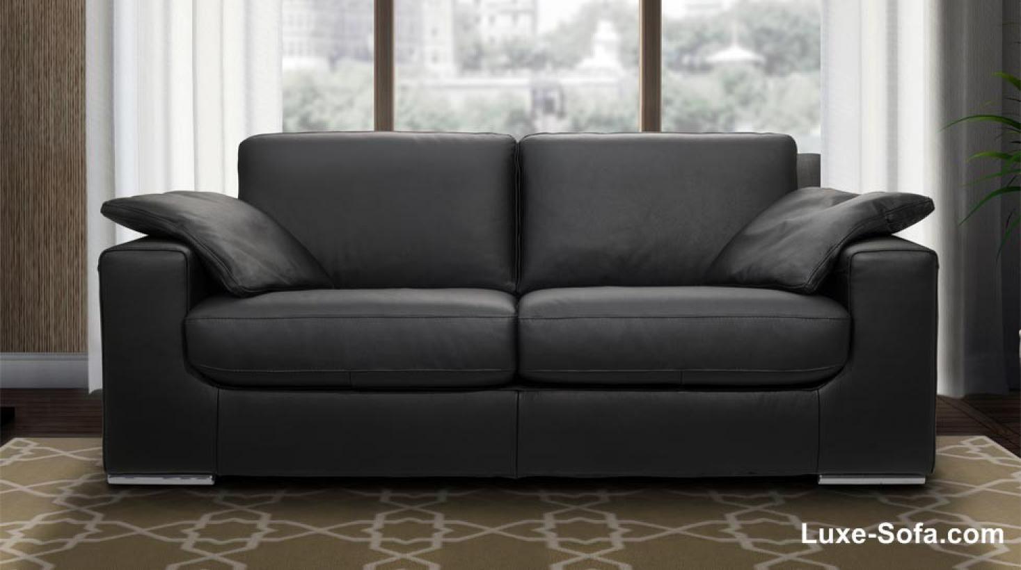 photos canap en cuir italien. Black Bedroom Furniture Sets. Home Design Ideas